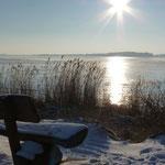 Blick von der Halbinsel Gnitz