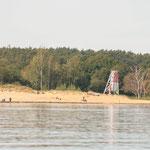 Blick auf den Freester Strand