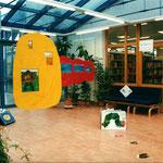 Ausstellung Bibliothek Adlershof (Teilansicht), Foto: O. G. Seifert