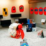Ausstellung Bibliothek Mitte (Teilansicht)