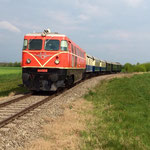 Dieser Zug ist eine Kooperation von Verein Neue Landesbahn, Bahn im Film und der Erlebnisabahn.
