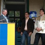Landesrat Karl Wilfing bedankt sich für die Einladung und hält die Eröffnungsrede.