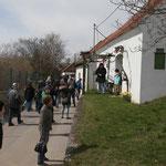 Unsere Gäste in der Kellergasse Dobermannsdorf