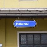 Das Ziel Hohenau ist erreicht.