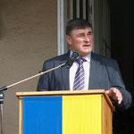 Ansprache von Bürgermeister Panzer (Asparn an der Zaya).