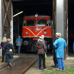 Zu Gast auch die 2050.09 der ÖBB Erlebnisbahn.