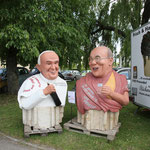 Auch der Papst und der Dalai Lama waren da.