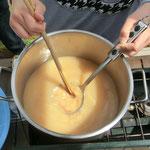 タケノコとノビルの味噌汁