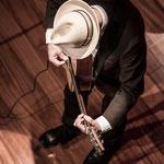 Víctor Coyote en el Teatro Valadares/Caminha-Portugal 8/Dic/14 Foto: Patrick Estéves
