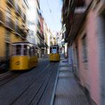 Semaine 20 : Petit séjour à Lisbonne, donc forcément ... les trams de Lisbonne, mais à ma sauce ... pas de traitement logiciel, uniquement de la prise de vue !