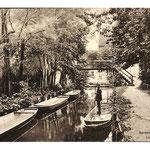 Lübbenau-Kahn auf der Spree im Spreewald