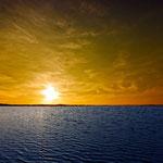 Meer-Sonnenuntergang