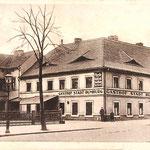 Zittau, Hotel Gasthof Stadt Rumburg 1929