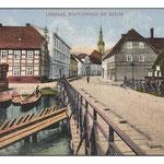 Lübbenau-Hauptstraße mit Brücke