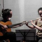 Suoniamo insieme, conosciamo gli strumenti - flauto traverso e chitarra