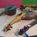Quelques instruments, Neuville, toutes photos Josette Gibaux