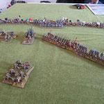 Die Normannen sind abgeprallt, Aua!