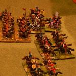 Byzantinische Kavallerie gegen Timarioten.