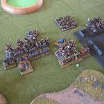 Die Normannen droppen im Impact und verlieren ein Element.