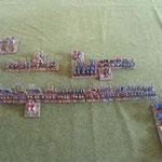 Plan B ohne Flankenmarsch auf die (schon wieder abgesessene) gegnerische Kavallerie zu.