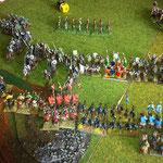 Die Armenier und Alaunen stellen sich den restlichen Normannen entgegen, der bedrohliche normannische Flankenmarsch kommt nicht.