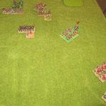 Die Reiter haben ein wenig die Kontrolle über die letzten Ungarn mit Befehlshaber verloren.