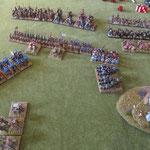 Die Waräger wollen die schweren Reiter vertreiben und sich dann um die Elis kümmern.