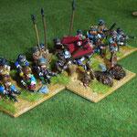 """Brigade mit """"Batalionsgeschütz"""""""