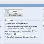 AZANSO Einfaches Buchhaltungsprogramm: DATEV Export