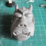Tête en Sculpey
