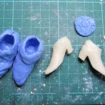 Moulage des chaussures