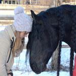 Winterzeit ist Kuschelzeit - Alex und ihr Caruso