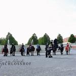 Barocker Tierumzug in Schloß Hof - Danke liebe Daniela Barta für das Foto!