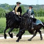 """""""Der Herr und seine Dame"""" am Pferdefest Mallon 6/2012"""