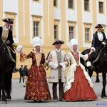 Die Friesen der Moments in Black - schön Geschmückt mit eleganter Begleitung!