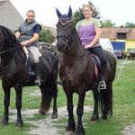 Regina und Thom, Sigrid und Gjalt