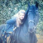 Die kleine Sophie Beck auf Xsantos - unser MIB-Nachwuchs