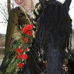 Habsburg trug die Braut Barbara zur feierlichen Trauung  - herzliche Gratulation im Namen der MIB´s