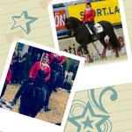 Melanie und Princess auf der Apropos Pferd 2012