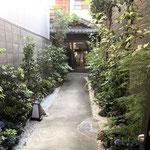 京町屋路地植栽