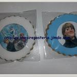 galletas de vainilla Frozen