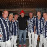 2. September 2012: Gruppenfoto mit Markus Becker auf der Brensbacher Kerb