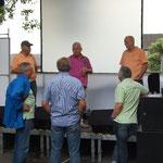 1. September 2012: Soundcheck für die Brensbacher Kerb