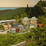B1:箱根登山鉄道富士屋ホテル付近