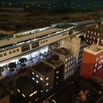 D4:路面電車が走る城下町(夜景)部分