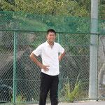 2008年卒団生、伊勢高校 3番センター 上田隼也。在籍時は捕手だった。