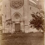 Façade de l'église Notre-Dame-de-l'Assomption. Champagne-sur-Oise