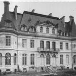 Le château de Dangu en 1899, près de Gisors