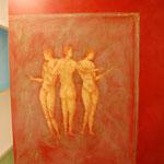 fresque pompei salle de bain