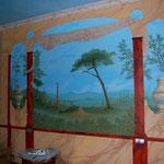 fresque tete de lit